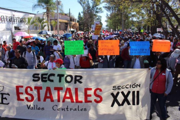 Interpone Sección 22 hasta 60 mil demandas contra Ley de Seguridad Interior | El Imparcial de Oaxaca