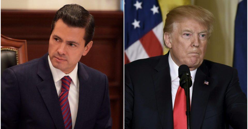 Por desacuerdo sobre muro, se cancela reunión de EPN con Trump | El Imparcial de Oaxaca
