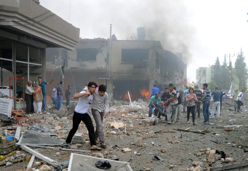 Proyectiles lanzados desde Siria contra Turquía causan un muerto y 12 heridos   El Imparcial de Oaxaca