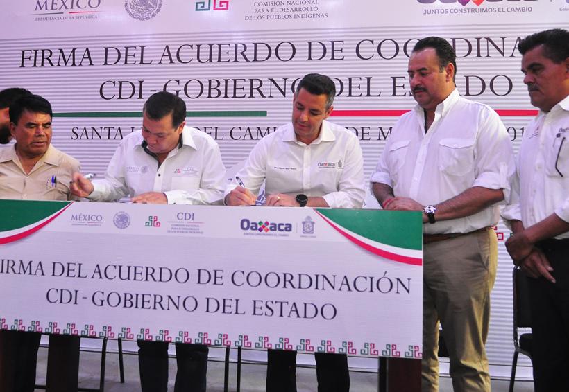 Otorga CDI 300 mdp a comunidades indígenas de Oaxaca | El Imparcial de Oaxaca
