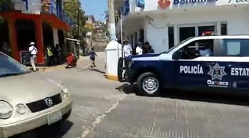 Asaltan banco; ahora fue un Banamex en Puerto Escondido | El Imparcial de Oaxaca