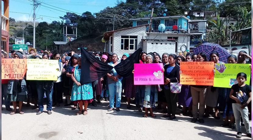 Exigen justicia por asesinato de un ama de casa en inmediaciones de San Juan Bosco en los Mixe Oaxaca | El Imparcial de Oaxaca