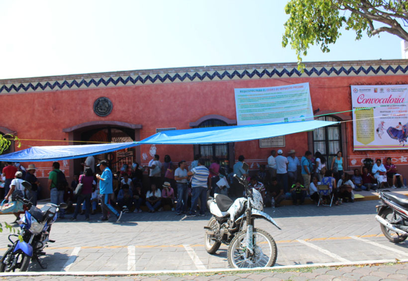 Concluye jornada de  la Sección 22 con toma  de oficinas de gobierno en la Mixteca de Oaxaca | El Imparcial de Oaxaca