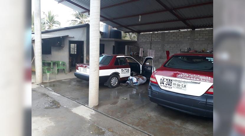 Acribillado mientras lavaba un taxi en poblado de San Antonio Tonameca, Oaxaca | El Imparcial de Oaxaca
