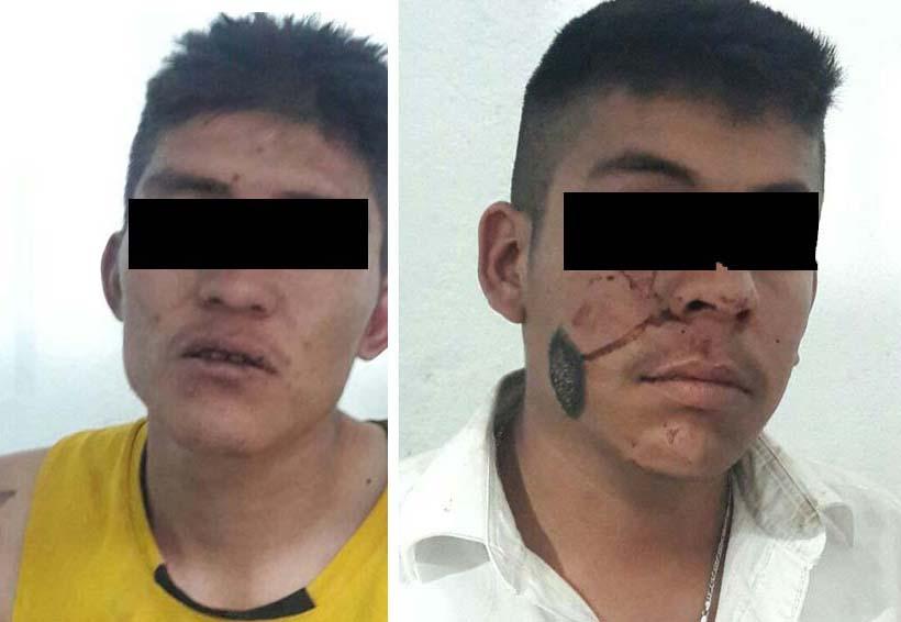 Detienen a pareja de ladrones que asaltaba en moto en Ixcotel | El Imparcial de Oaxaca