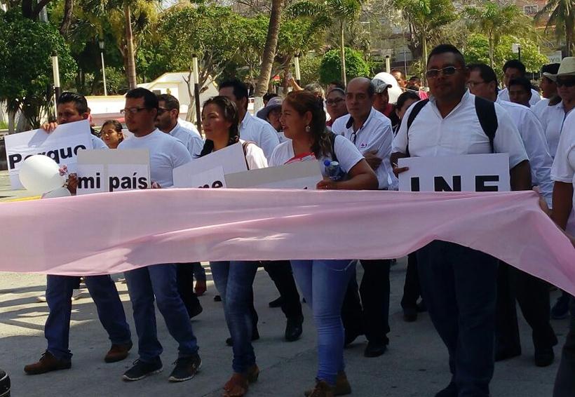 INE realiza jornada en Salina Cruz;  se alistan para jornada electoral | El Imparcial de Oaxaca