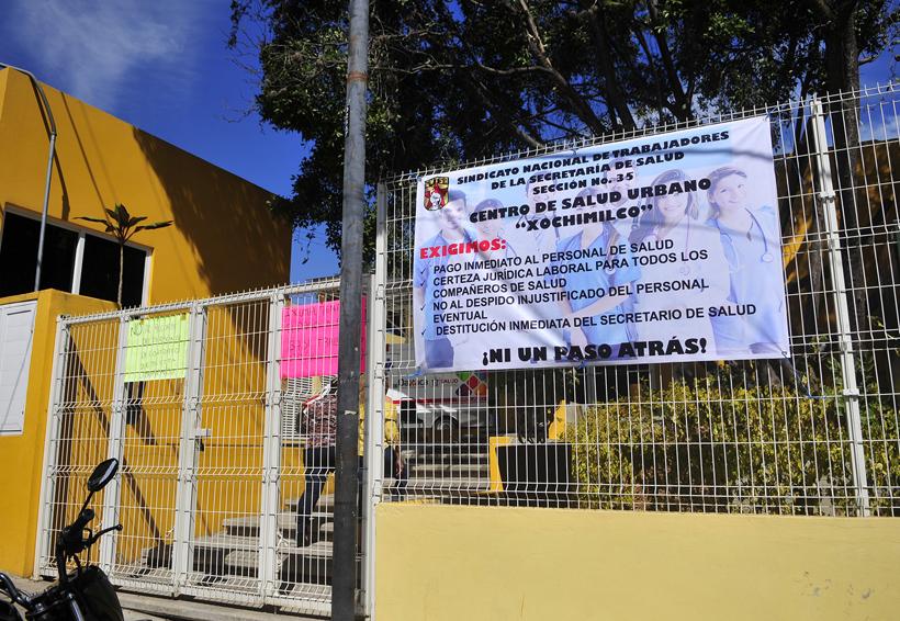 Mantienen paro parcial en los Servicios de Salud de Oaxaca | El Imparcial de Oaxaca