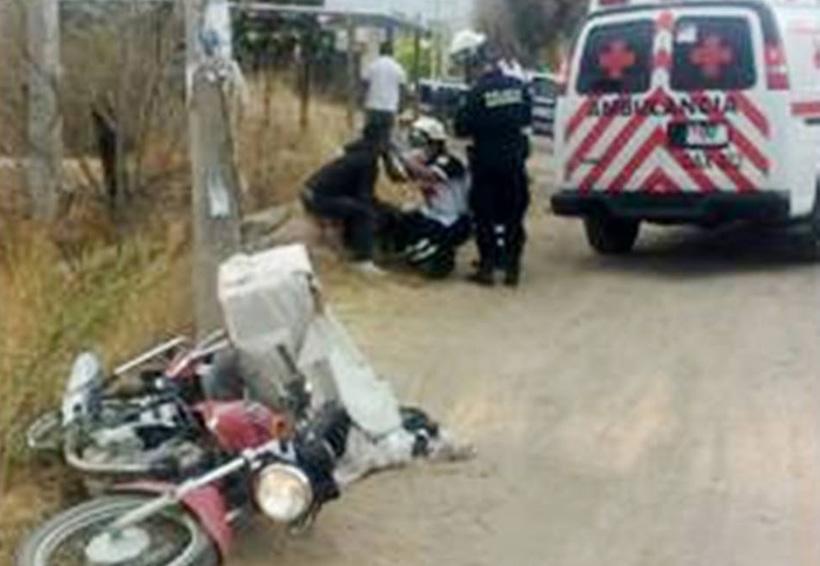 Repartidor de tortillas se queda sin frenos y derrapa | El Imparcial de Oaxaca
