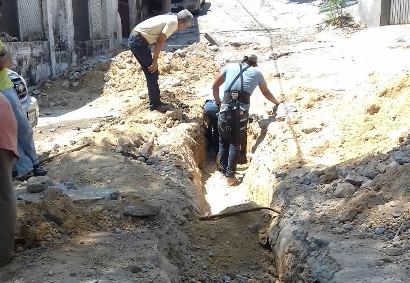 Resuelven problema de agua  negras que afectaba a vecinos de Salina Cruz, Oaxaca | El Imparcial de Oaxaca