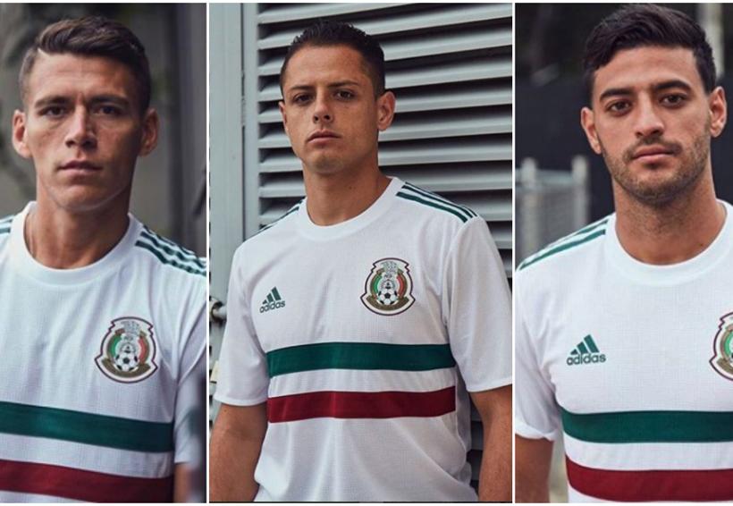'El Tri' presenta su camiseta de visitante para Rusia 2018 | El Imparcial de Oaxaca