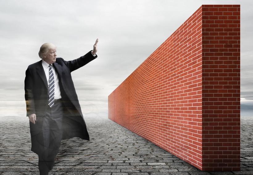 Presume Trump inicio de construcción del muro fronterizo con México   El Imparcial de Oaxaca