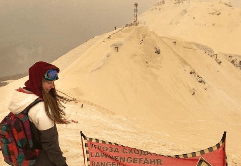 Europa se cubre de nieve anaranjada | El Imparcial de Oaxaca