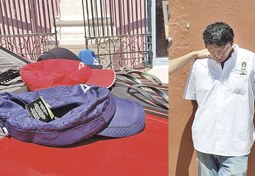 Lo atrapan tras robar mercancía | El Imparcial de Oaxaca