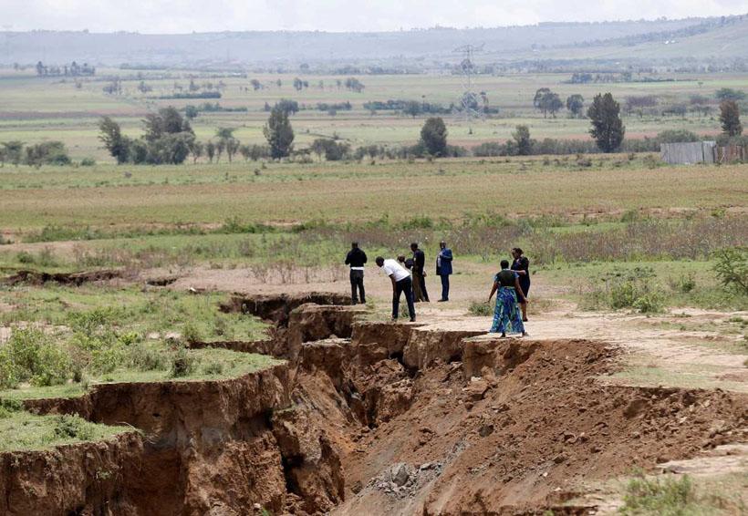 En Kenia aparece grieta que partirá África en dos   El Imparcial de Oaxaca
