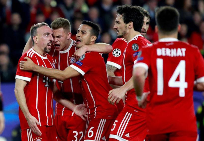El Bayern gana con autoridad en Sevilla; 1-2 | El Imparcial de Oaxaca
