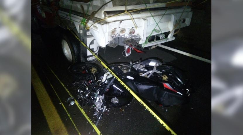 Por muerte de joven motociclista en Lachixio, va ante MP chofer de camión | El Imparcial de Oaxaca