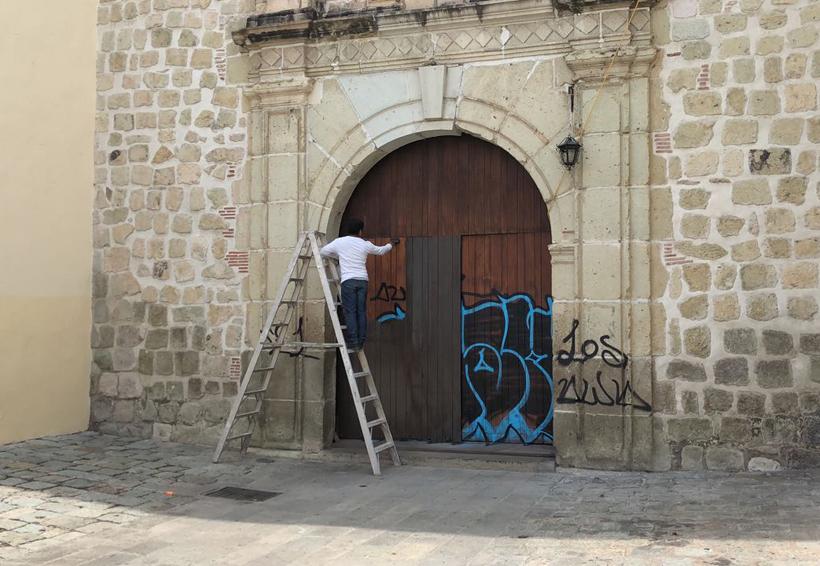 Vándalos atentan contra patrimonio cultural y religioso de Oaxaca | El Imparcial de Oaxaca