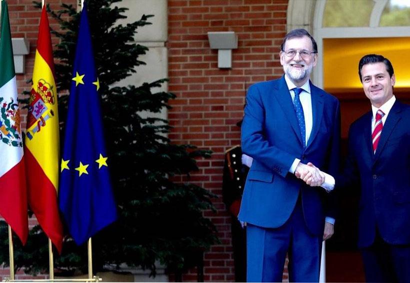 Peña Nieto y Rajoy se reúnen en Madrid | El Imparcial de Oaxaca