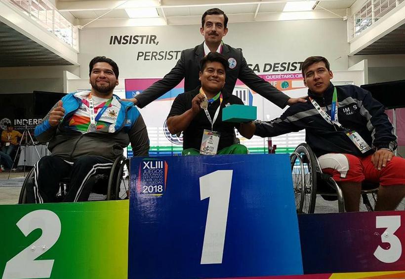 Oaxaqueños cosechan medallas en los JND sobre Silla de Ruedas 2018 | El Imparcial de Oaxaca