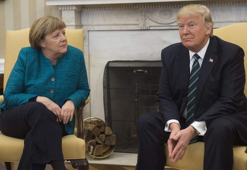 Merkel y Trump se reunirán el 27 de abril | El Imparcial de Oaxaca