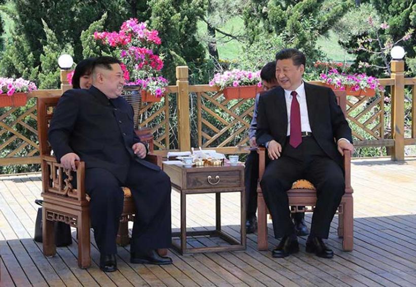 Kim Jong-un visita a China antes de verse con Trump | El Imparcial de Oaxaca