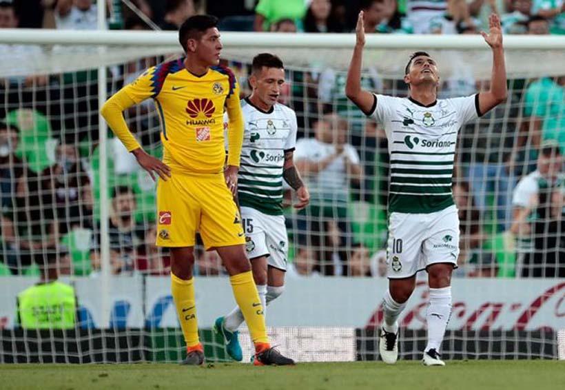 Santos golea con autoridad al América en Torreón; 4-1 | El Imparcial de Oaxaca