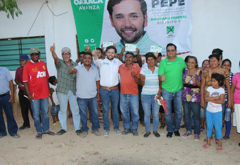 Gestionará Pepe Estefan recursos para agua potable | El Imparcial de Oaxaca
