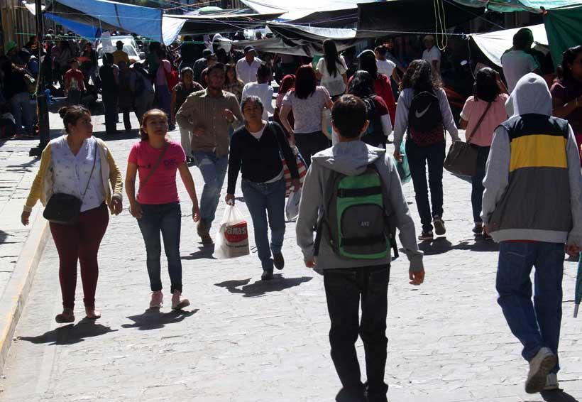 Hay inquietud por plantón magisterial en el Centro Histórico   El Imparcial de Oaxaca