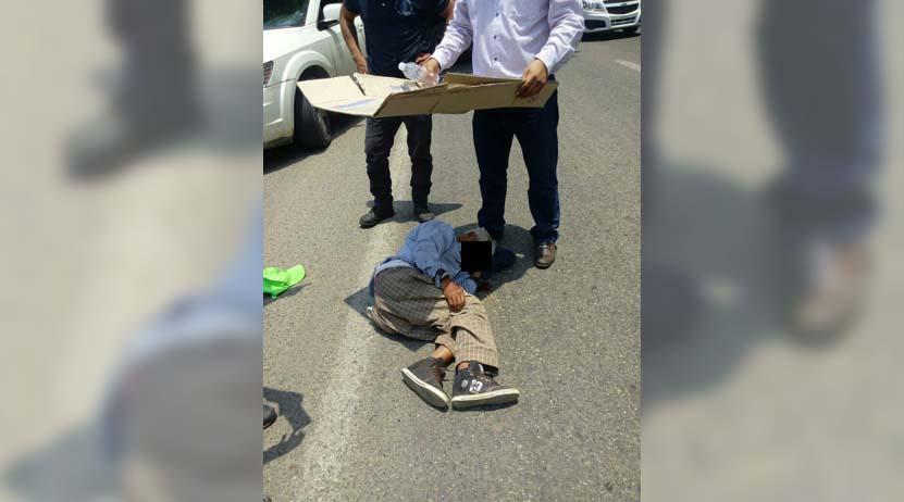 Arrollan a anciano en Santa Lucía del Camino, Oaxaca; culpable escapa | El Imparcial de Oaxaca