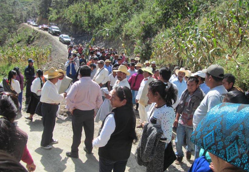 Teopoxco obtiene obras con mezcla de recursos   El Imparcial de Oaxaca