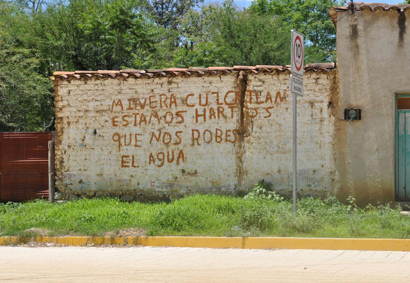 Obtiene San José  del Progreso migajas de la mina   El Imparcial de Oaxaca