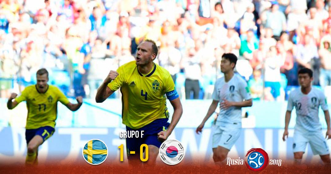 Suecia gana por la mínima ante Corea del Sur | El Imparcial de Oaxaca