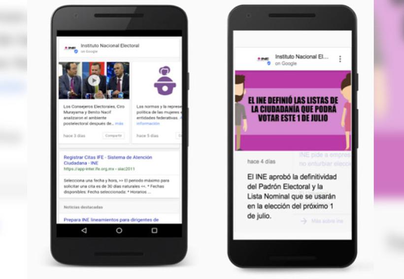 Ubica tu casilla y conoce los resultados desde Google | El Imparcial de Oaxaca