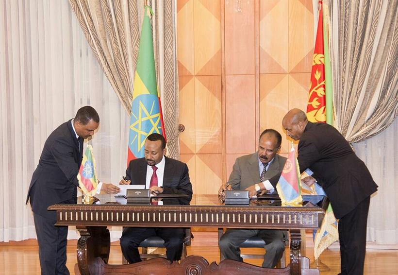 Eritrea y Etiopía firman acuerdo de paz | El Imparcial de Oaxaca