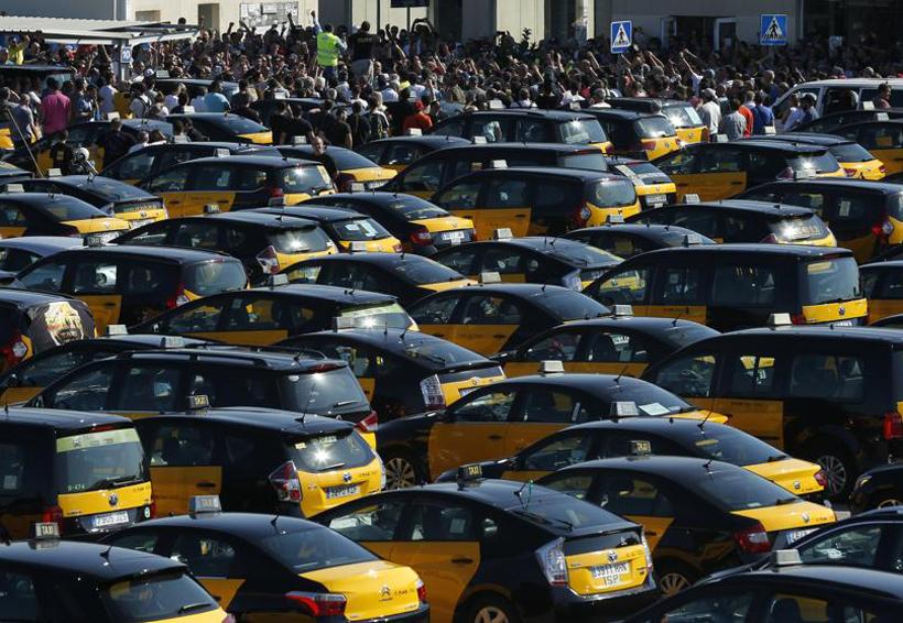 Taxistas de Barcelona amenazan con bloquear la ciudad | El Imparcial de Oaxaca