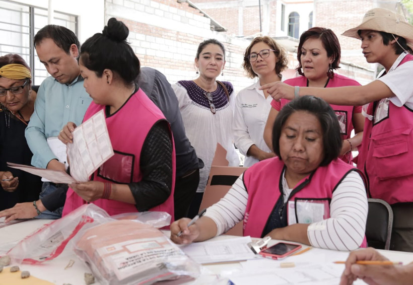 Confirman triunfo de Morena en los primeros 7 distritos electorales de Oaxaca   El Imparcial de Oaxaca