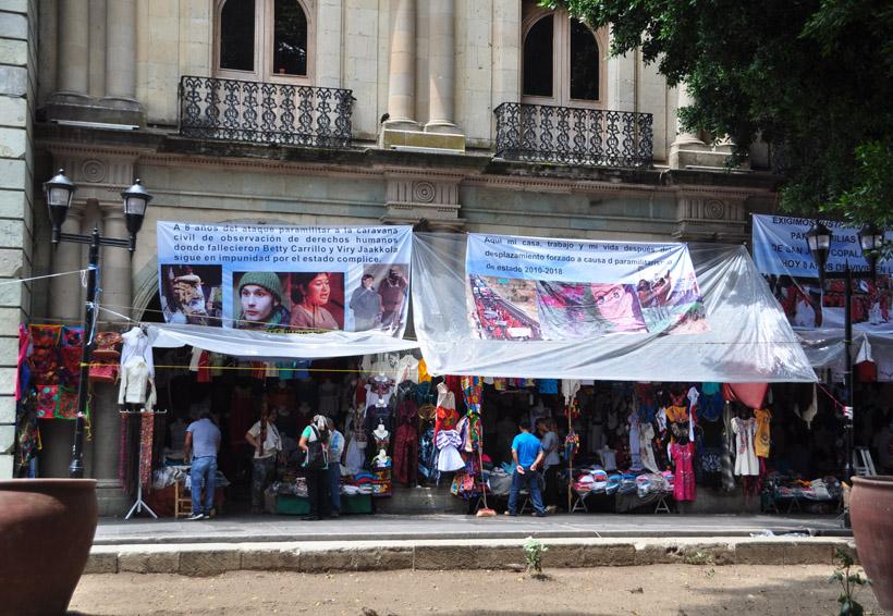 No cesa ambulantaje en el Centro Histórico de Oaxaca | El Imparcial de Oaxaca