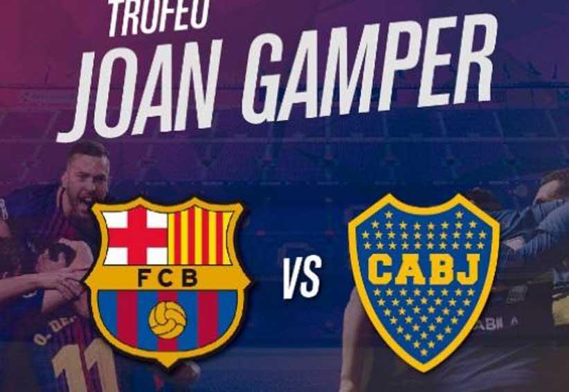Boca jugará contra el Barça por el Trofeo Joan Gamper | El Imparcial de Oaxaca