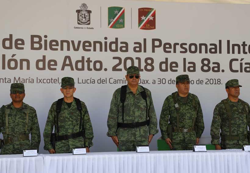 Inician con su servicio militar más de un centenar de conscriptos | El Imparcial de Oaxaca