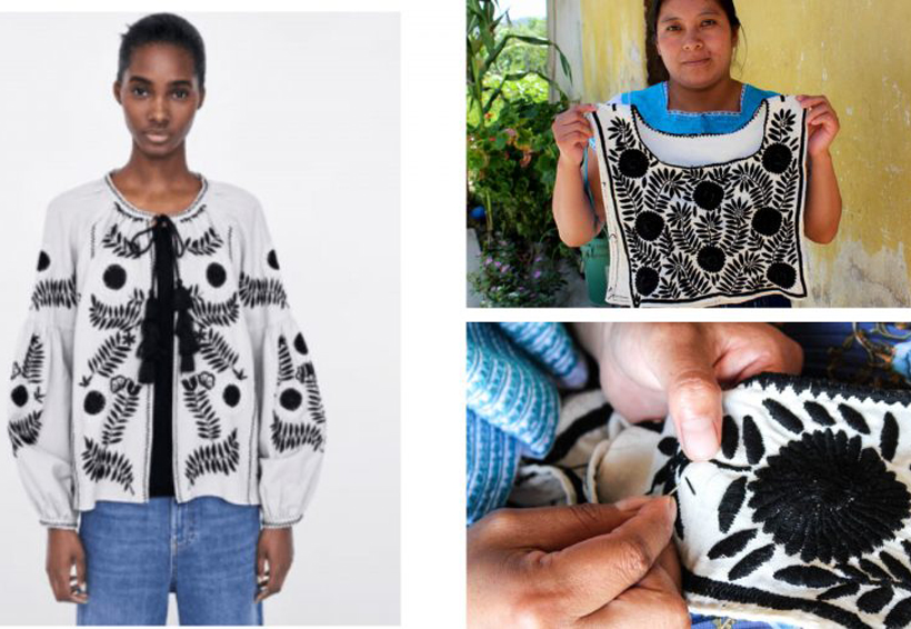 Zara vuelve a plagiar diseño de bordados de artesanas chiapanecas | El Imparcial de Oaxaca