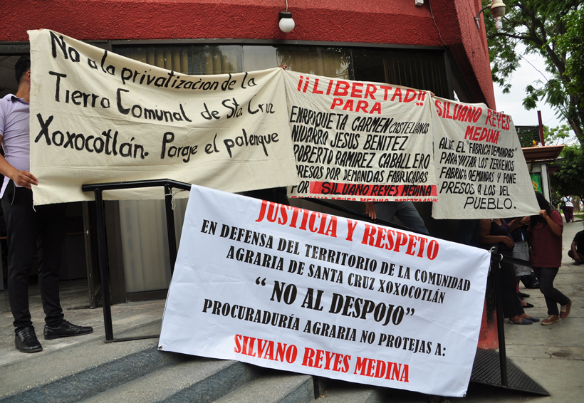Crece disputa entre  comuneros de Xoxocotlán   El Imparcial de Oaxaca
