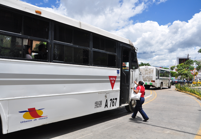 Transporte público: costos, servicios y suplicios | El Imparcial de Oaxaca