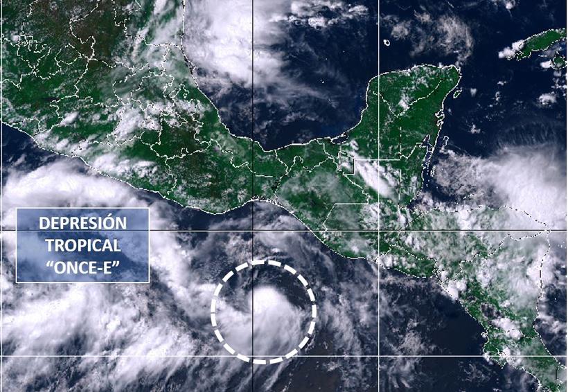 Alerta SMN por impacto de la Depresión Tropical 11-E en Oaxaca | El Imparcial de Oaxaca