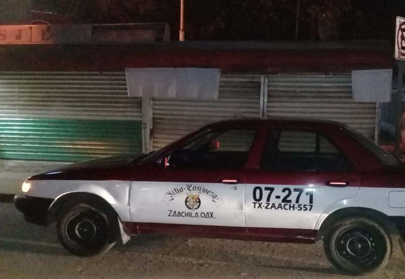 Taxi robado circulaba en la Central de Abasto | El Imparcial de Oaxaca
