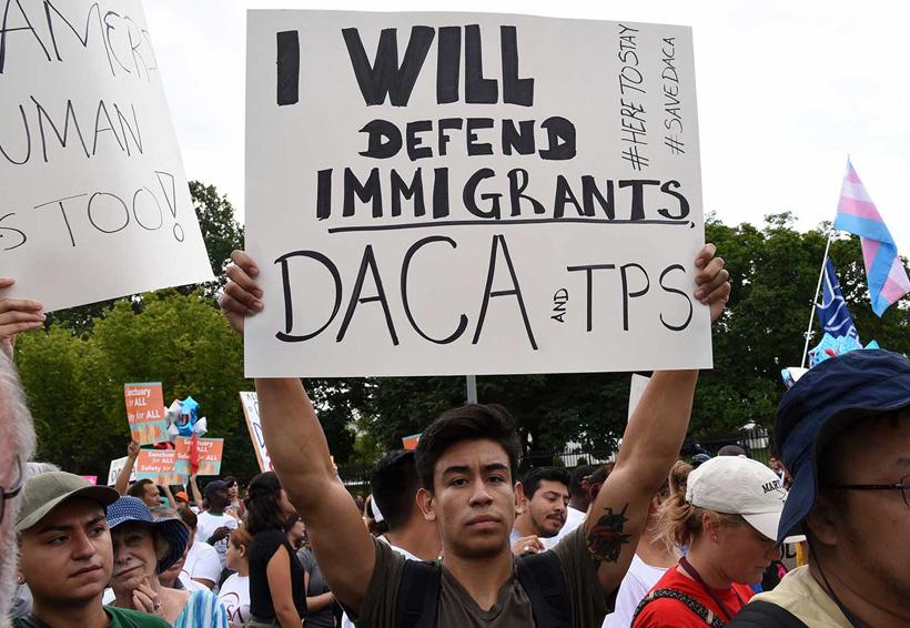 Juez ordena a Donald Trump reactivar programa DACA | El Imparcial de Oaxaca