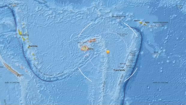Se registra sismo de magnitud 6.6 en Fiyi | El Imparcial de Oaxaca