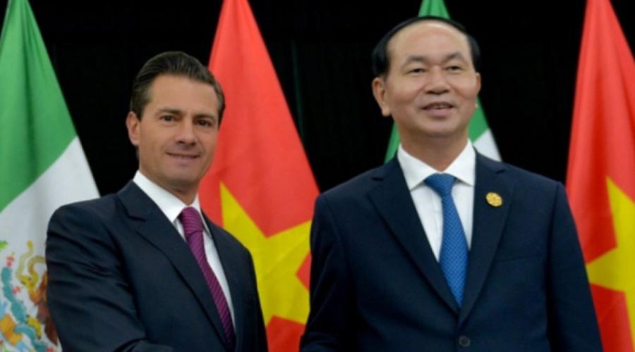 Lamenta Peña Nieto muerte de presidente de Vietnam | El Imparcial de Oaxaca