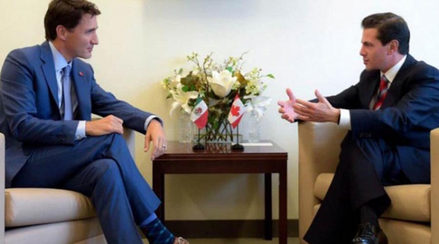 Peña y Trudeau hablan sobre el TLCAN en Asamblea de la ONU   El Imparcial de Oaxaca