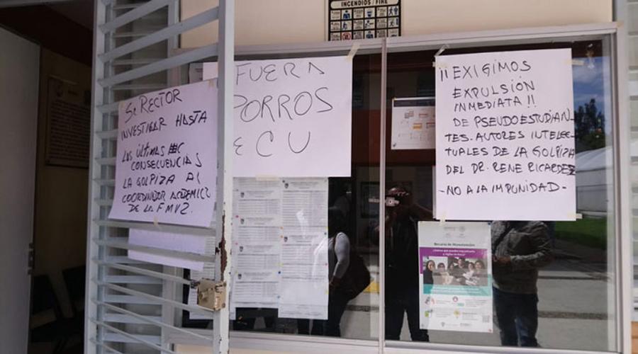 Con porrismo, controlan Facultad de Veterinaria | El Imparcial de Oaxaca