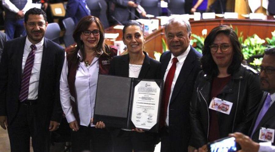 Entrega IECM constancia de mayoría a Claudia Sheinbaum | El Imparcial de Oaxaca